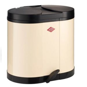 Wesco Double Bin Duo Afvalemmer 30 Liter (2x15 Liter)