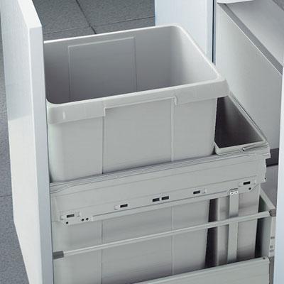 Afvalemmer Hailo Euro-Cargo-front 42 liter 3614-30