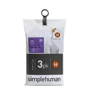 Afvalzakken Liner Pocket Code H