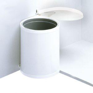 Afvalemmer Hailo Mono 12 liter 3512-00 wit