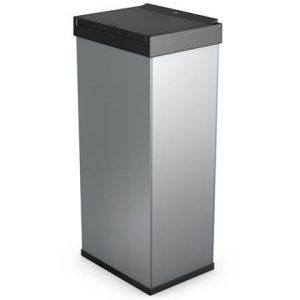 Hailo Afvalbak Big-Box Touch maat XL 52 L zilver 0860-601