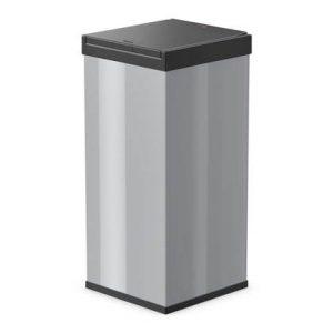 Hailo Afvalbak Big-Box Touch maat XXL 71 L zilver 0880-301