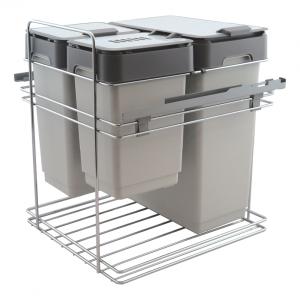 Afvalemmer Copa A-6030. 49 liter. Front en draaideur toepassing