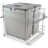 Afvalemmer Copa A-6060. 66 liter. Front en draaideur toepassing