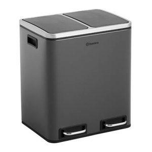 Homra Blinq Duo Pedaalemmer 30 liter (2x15 liter)