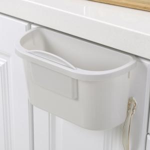 Coninx afvalemmer- opvangschaal voor keukenblad grijs