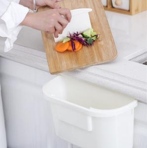 Coninx Afvalemmer - opvangschaal voor keukenblad wit