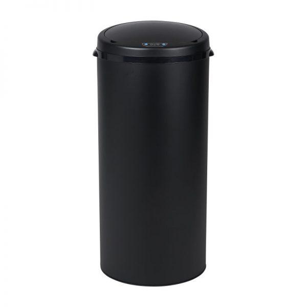Afvalbak met sensor - zwart - 30x68 cm - Xenos