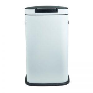 Afvalemmer push - wit - 38 liter - Xenos