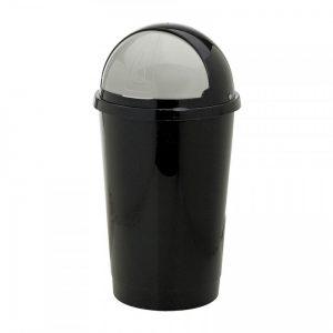 Afvalton bullit - 50 liter - zwart - Xenos