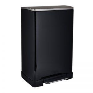EKO pedaalemmer e-cube - 40 liter - zwart - Xenos