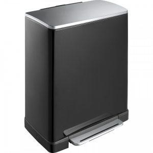 EKO recycle pedaalemmer e-cube - 28+18 liter - zwart - Xenos
