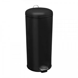 Pedaalemmer XL - 30 liter - zwart - Xenos