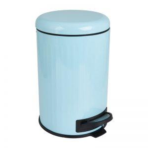 Pedaalemmer retro - blauw - 12 liter - Xenos