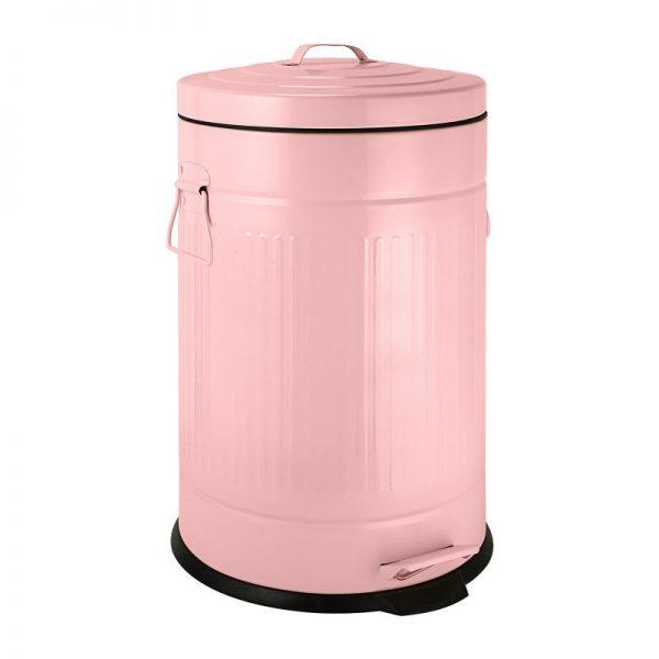 Pedaalemmer retro look - roze - 12 liter - Xenos