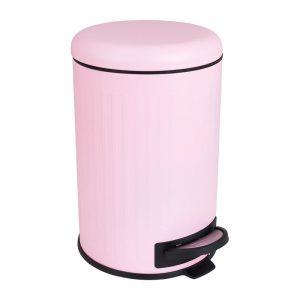 Pedaalemmer retro - roze - 12 liter - Xenos