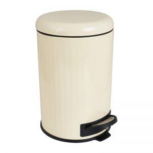 Pedaalemmer retro - wit - 12 liter - Xenos