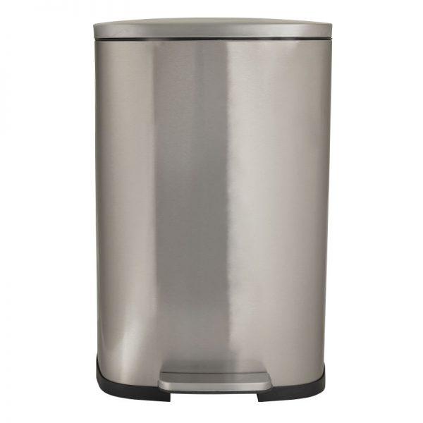 Pedaalemmer - zilver - 50 liter - Xenos