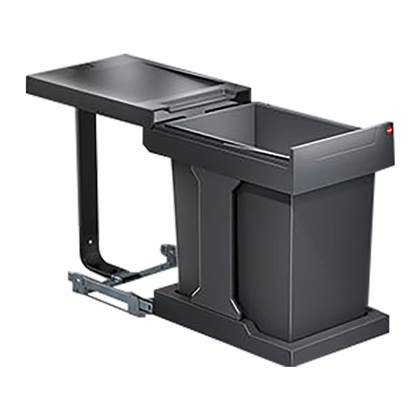 Hailo Solo Automatic Inbouwafvalemmer 20 Liter