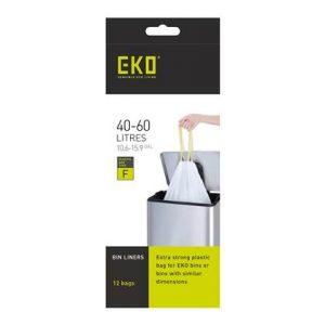 EKO Type F Afvalzak 40-60 Liter - 6 x 12 Zakken