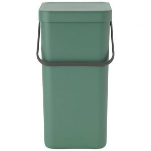 Brabantia Sort & Go afvalemmer 16 liter - Fir Green