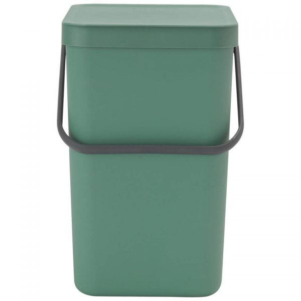 Brabantia Sort & Go afvalemmer 25 liter - Fir Green