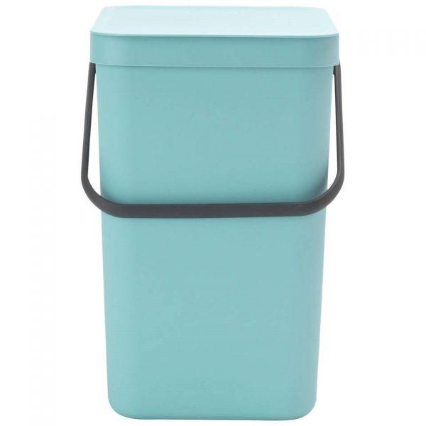Brabantia Sort & Go afvalemmer 25 liter - Mint