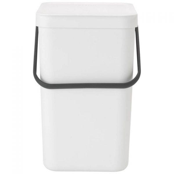 Brabantia Sort & Go afvalemmer 25 liter - White