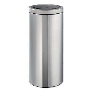 Brabantia Touch Bin Flat Top 30 l - Matt Steel