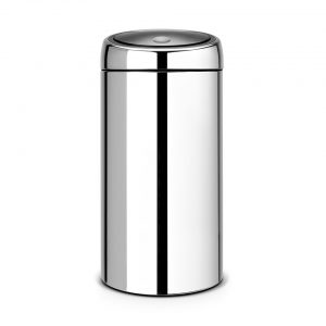 Brabantia Touch Bin Recycle prullenbak - 2x20 L - RVS