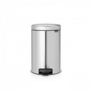 Brabantia newIcon pedaalemmer 12 l - Matt Steel Fingerprint Proof