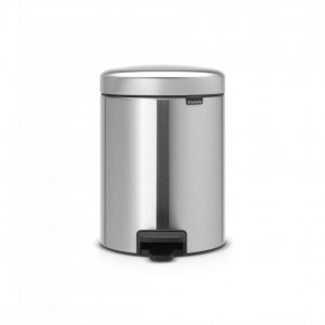 Brabantia newIcon pedaalemmer 5 l - Matt Steel Fingerprint Proof
