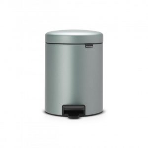 Brabantia newIcon pedaalemmer 5 l - Metallic Mint