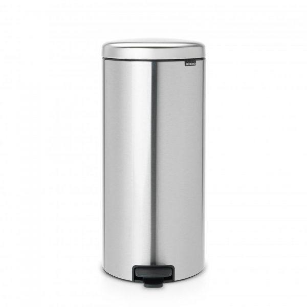 Brabantia newIcon prullenbak - 30 liter - matt steel fingerprint proof