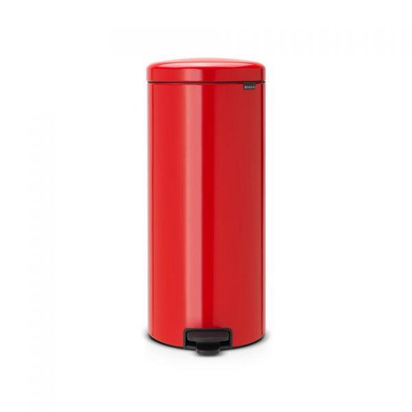 Brabantia newIcon prullenbak - 30 liter - rood