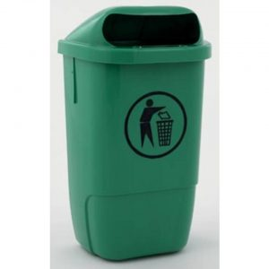 Afvalbak uit kunststof