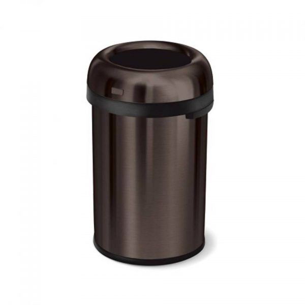 Afvalemmer Bullet Open Top Can 115 liter - Brons - Simplehuman
