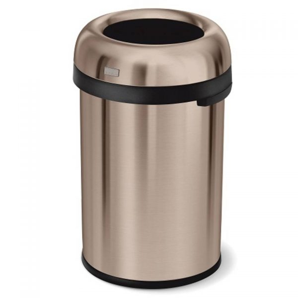 Afvalemmer Bullet Open Top Can 115 liter - Rose Gold - Simplehuman