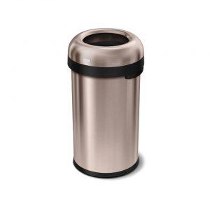 Afvalemmer Bullet Open Top Can 80 liter - Rose Gold- Simplehuman