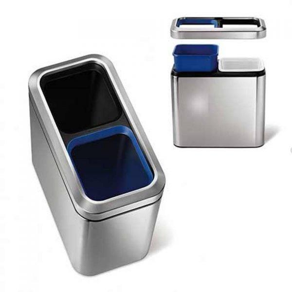 Afvalemmer Slim Open Recycler