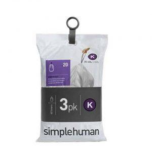 Afvalzakken liner pocket code k