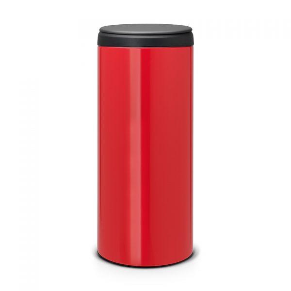Brabantia FlipBin prullenbak 30 liter - passion red