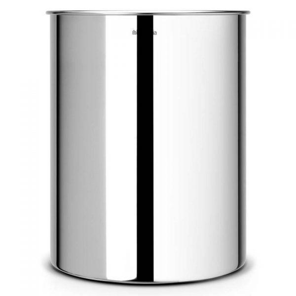 Brabantia - Prullenbak 15 ltr brilliant steel