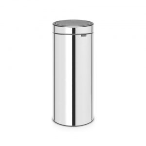 Brabantia Touch Bin 30 l - Brilliant Steel
