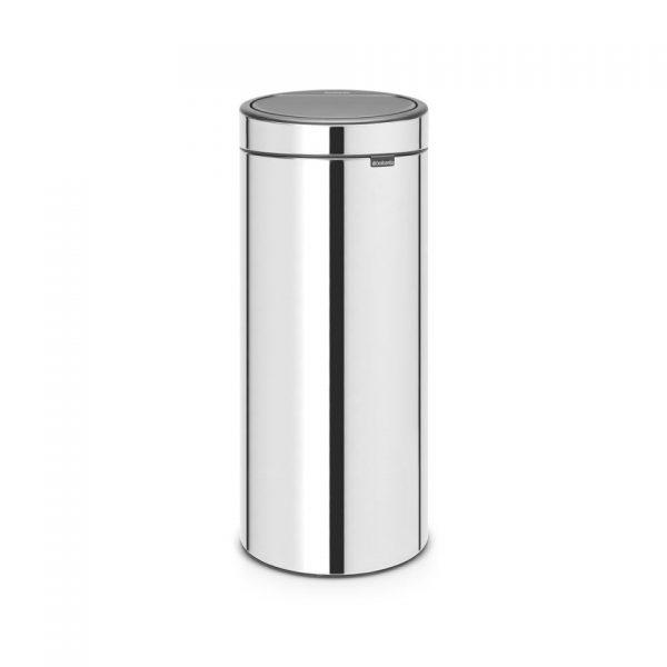 Brabantia Touch Bin 30 l - Brilliant Steel