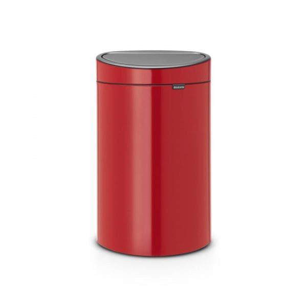 Brabantia Touch Bin 40 l - Passion Red