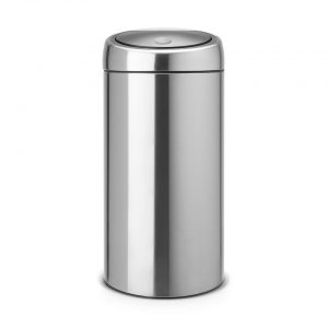 Brabantia Touch Bin 45 l - Matt Steel Fingerprint Proof
