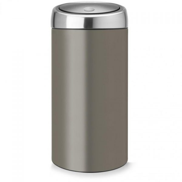 Brabantia Touch Bin afvalscheider - 2 x 20 liter - Platinum