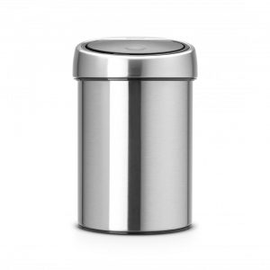 Brabantia Touch Bin prullenbak - 3 L - Matt Steel Fingerprint Proof