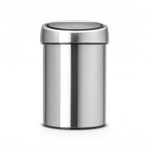 Brabantia Touch Bin prullenbak - 3 L - Matt Steel Fingerprint Proof